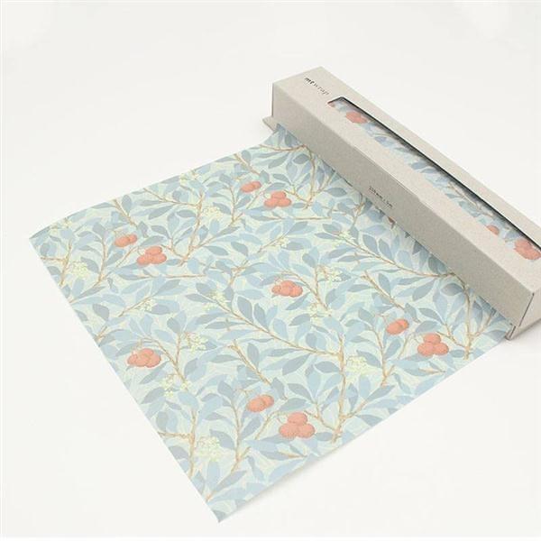mt WRAP(標準尺寸) ・William Morris Arbutus mt和紙自黏包裝紙【KAMOI mt】