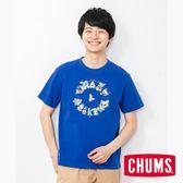 CHUMS M(男)Crazy Weekend 短袖T恤 藍色夏威夷 CH011481A065