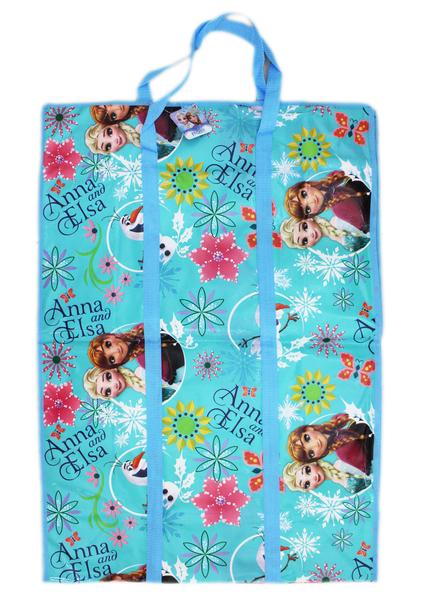 【卡漫城】 冰雪奇緣 批貨袋 直式XL ㊣版 Frozen 艾莎 安娜 棉被袋 購物 收納袋 玩具 衣物 萬用 搬家