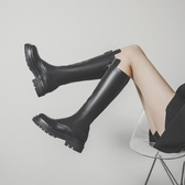膝上靴 長筒靴騎士靴女鞋2020新款秋冬季長筒靴不過膝長靴加絨高筒女靴子