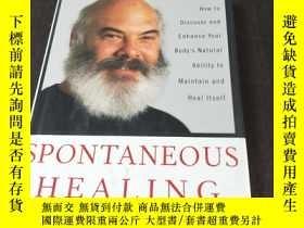二手書博民逛書店SPONTANEOUS罕見HEALING(1995年精裝毛邊本,