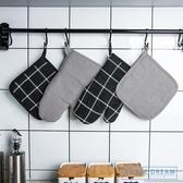 隔熱手套 加厚微波爐隔熱烤箱專用防燙手套加厚隔熱餐墊鍋墊烘焙手套 HD
