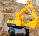 挖掘機玩具 組合套裝超大仿真工程車玩具兒童挖沙工具 女男孩沙灘車【快速出貨八折搶購】
