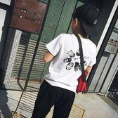 85折男童短袖t恤純棉新款中大童韓版圓領童裝開學季