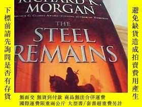 二手書博民逛書店英文精裝罕見The steel remains--Richard