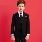 兒童西裝套裝帥氣男童花童禮服鋼琴演出服中大童小男孩西服外套冬 快速出貨