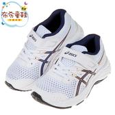 《布布童鞋》asics亞瑟士CONTEND經典白透氣兒童機能運動鞋(17~22公分) [ J0A087M ]