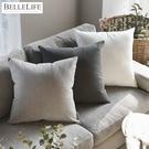 靠枕套 枕套 純棉 枕頭套 抱枕套【G0095】日常素色靠枕套(三色) 韓國製 完美主義