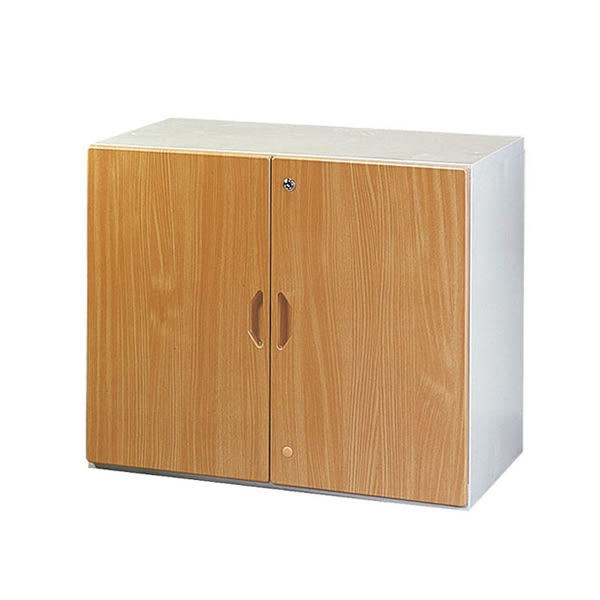 【YUDA】WN-2鋼木門二層式 鋼木櫃/鐵櫃 文件櫃/展示櫃/公文櫃