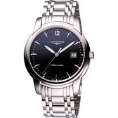 LONGINES 浪琴 Saint-Imier 經典復刻手錶-銀 L27664526
