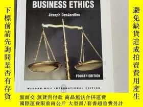 二手書博民逛書店An罕見Introduction to BUSINESS ETHICS(商業道德導論)平裝 扉頁有名字Y631