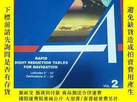 二手書博民逛書店RAPID罕見SIGHT REDUCTION TABLES FO