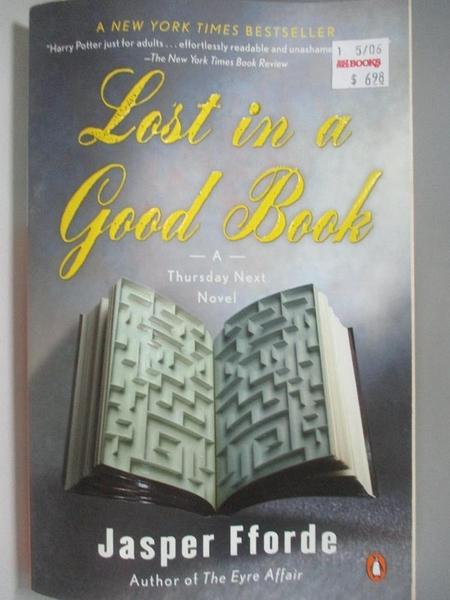【書寶二手書T4/原文小說_AIB】Lost in a Good Book_Fforde, Jasper