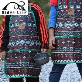 丹大戶外【Ridge Line】韓國 兒童專用防水小圍裙 防水處理/清理容易