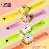兒童手錶兒童玩具手錶玩具車男孩3歲4電子錶汽車卡通寶寶閃光音樂幼兒園 JUST M