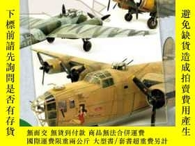 二手書博民逛書店Static罕見model manual 8 World War II Bombers-Building and