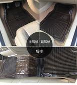 汽車卡通透明通用乳膠腳墊塑料橡膠防水防滑腳墊通用款5片裝igo 時尚潮流
