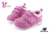 New Balance 123 寶寶學步鞋 小童 透氣運動鞋 O8411#粉紅◆OSOME奧森童鞋