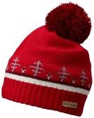 【Columbia】中性保暖快排毛帽紅色