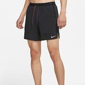NIKE 短褲 FLEX DRY 7IN 黑 拼接 口袋 快乾 運動 訓練 短褲 男 (布魯克林) DA0992-010