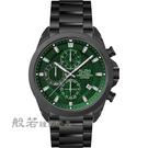 ALBA 雅柏 台灣限定款計時手錶-黑X綠