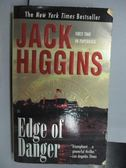 【書寶二手書T8/原文小說_OBN】Edge if Danger_Jack Higgins