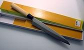 7吋-沙西米刀/生魚片刀-銀鋼木柄(A00088) 本賣場為210mm,另有240mm、270mm、300mm可選擇
