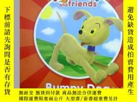 二手書博民逛書店英文原版罕見少兒繪本 Noddy and friends:Bum