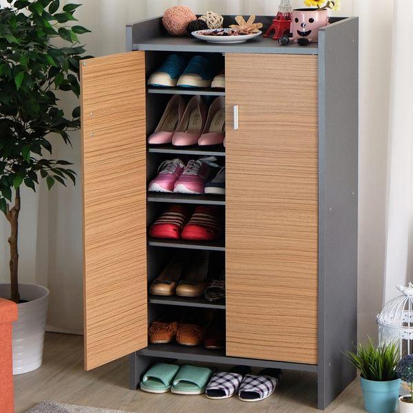 [ 家事達 ]台灣SA-【EASY HOME】高台置物鞋櫃收納--21雙鞋 特價