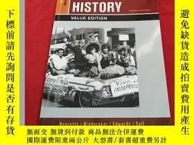 二手書博民逛書店AMERICA罕見S HISTORY VALUE EDITION