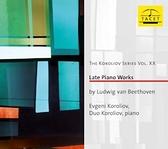【停看聽音響唱片】【CD】柯洛里奧弗:貝多芬:晚期鋼琴作品集