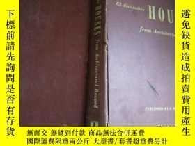 二手書博民逛書店82罕見distinctive houses from arch