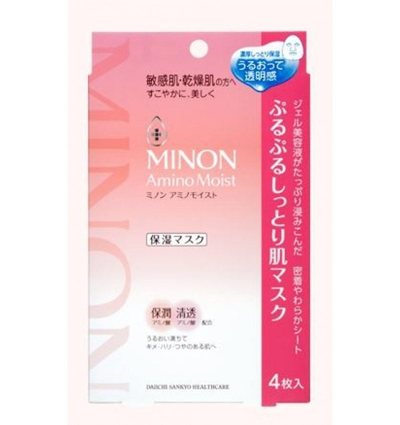 MINON Amino Moist 保濕面膜(4枚/盒)
