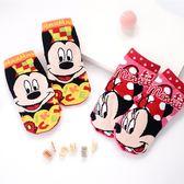 迪士尼系列直版童襪 米奇米妮 襪子 短筒襪