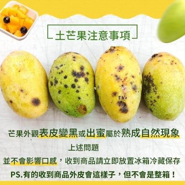 【WANG-全省免運】屏東正統土芒果X3斤±10%含箱重(每台斤約5~7顆)