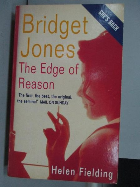 【書寶二手書T5/原文小說_IRO】Bridget Jones_Helen Fielding