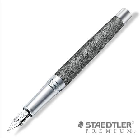 施德樓 PREMIUM Corium Simplex 系列鋼筆 9PC1380(鐵灰桿) EF/F/M尖 / 支