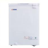 留言折扣享優惠 【至鴻 GEMA】 密閉式冷凍櫃【1尺9 冰櫃】型號:BD-105
