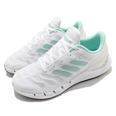 adidas 慢跑鞋 Climacool Ventania W 白 綠 透氣 愛迪達 女鞋 【ACS】 FX7357