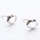 925純銀耳環 (耳針式)-嘴唇個性生日情人節禮物女飾品73ag367【巴黎精品】
