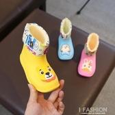 寶寶雨鞋男童女童水鞋雨靴防滑1-3嬰幼兒童幼兒園四季通用-Ifashion