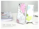 ✿ 3C膜露露 ✿ iphone5/iphone4/iphone4S【蝴蝶水仙】水鑽手機殼