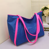 大包包新款潮時尚女包包旅行包手提購物袋尼龍布包單肩包