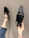 穆勒鞋拖鞋女士夏季新款外穿時尚百搭韓版網紅平跟涼拖尖頭半拖女穆勒鞋 愛丫 新品