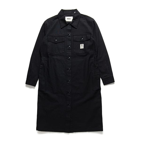 Taylor Shirt Dress 洋裝 - 黑色
