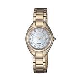 【Citizen星辰】LADY'S光動能璀璨時尚典雅氣質腕錶-貝殼藍/EW2543-85D/台灣總代理公司貨享兩年保固