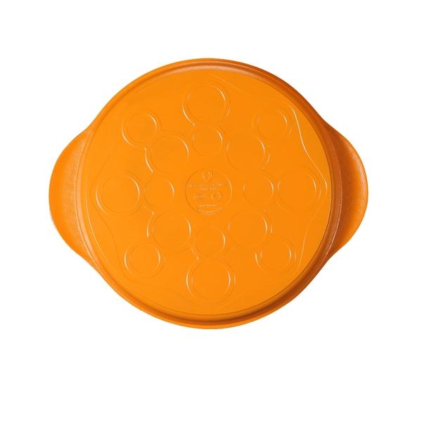 【瑞士MONCROSS】亮麗橘鈦不沾烤盤-28cm