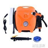 洗車機 車載洗車器12v高壓便攜迷你家用自吸多功能水槍充氣泵一體機神器 mks生活主義