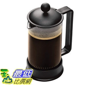 [7美國直購] 咖啡壺 Bodum Brazil French Press Coffee Maker, 12 Ounce, .35 Liter, Black