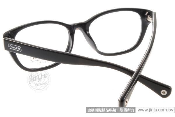 COACH 光學眼鏡 CO6029F 5002 (黑色)  經典版型平光鏡框 # 金橘眼鏡